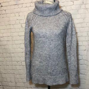 Kaisley Sweater Cowl neck Side Zipper Wool Blend